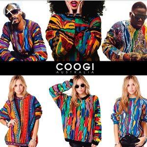 COOGIE Australia Patchwork Crewneck Unisex Sweater